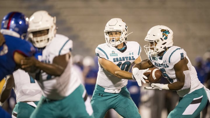 Coastal Carolina vs Texas State Odds, Spread, Prediction, Date & Start Time for College Football Week 13 Game.
