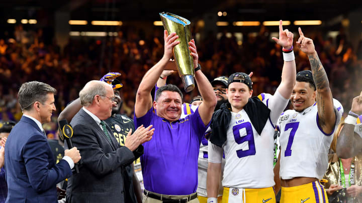 Can LSU repeat the magic next year? Coach O is building something special in Baton Rouge.