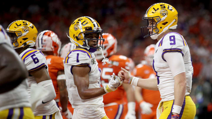 The LSU connection between Joe Burrow and Ja'Marr Chase is not the reason the Cincinnati Bengals drafted the wideout.