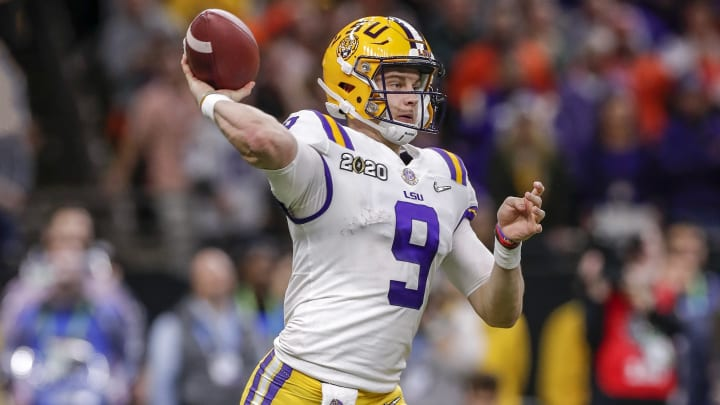 Odds to Win Offensive Rookie of the Year Favor Joe Burrow
