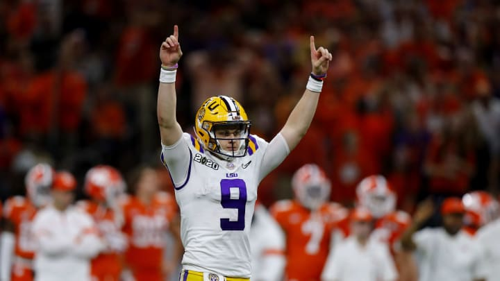 Joe Burrow leads LSU past Clemson in the College Football Playoff National Championship Game