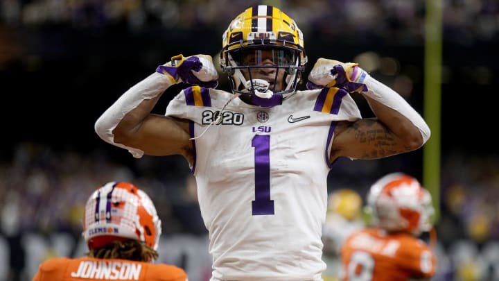 The four most likely LSU Players to win the 2020 Heisman Trophy include Ja'Marr Chase and Myles Brennan.