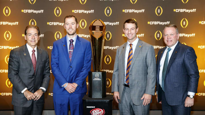 Nick Saban, Lincoln Riley, Dabo Swinney, Brian Kelly