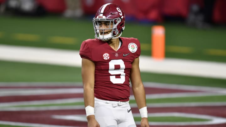 Bryce Young is set to start at quarterback for Alabama in 2021.