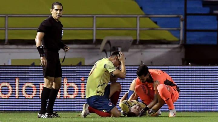 Arias erlitt eine schlimme Verletzung