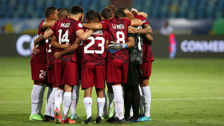Seleção Venezuelana vem a campo em busca da primeira vitória na Copa América 2021