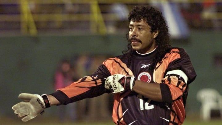 Rene Higuita scored three goals for Colombia