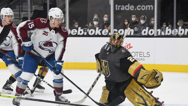 The Colorado Avalanche have a slight lead over Vegas Golden Knights in the odds to win the 2021 Stanley Cup.