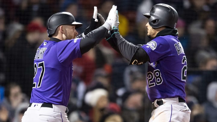 Nolan Arenado and Trevor Story are both elite fantasy baseball options. Which one should you draft?