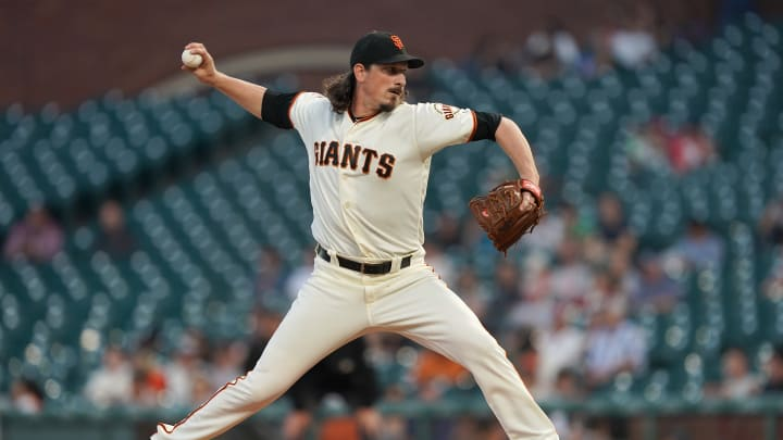 San Francisco Giants starter Jeff Samardzija