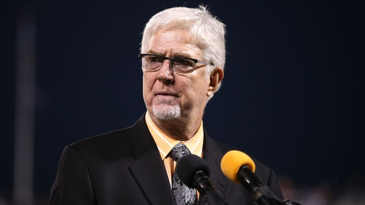 Chicago Cubs pitcher Mike Krukow