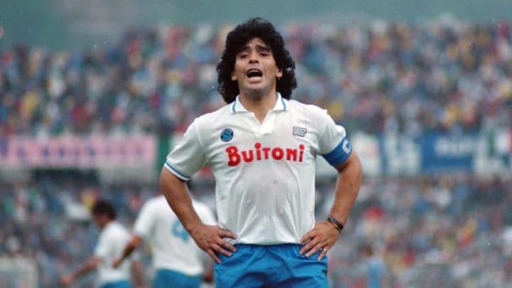 Maradona vs Como