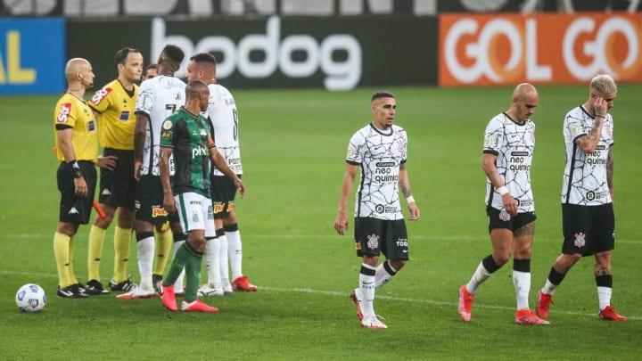 Corinthians Brasileirão Sylvinho América-MG Palmeiras