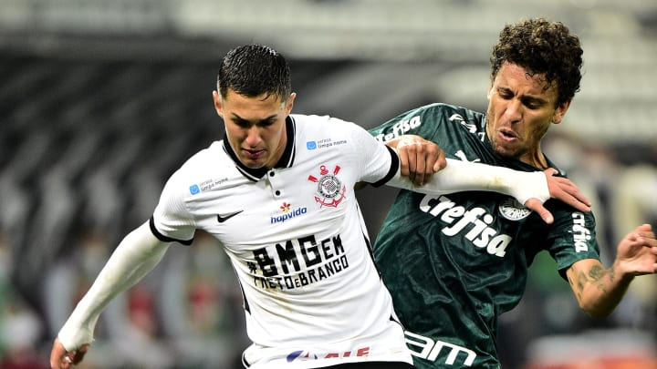Corinthians v Palmeiras - Sao Paulo State Championship Final 1Leg