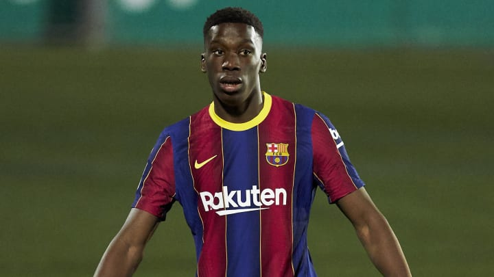 Ilaix Moriba was handed his first-team debut at Barcelona