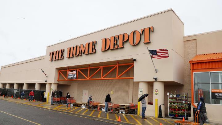A Home Depot.