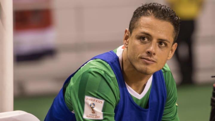 Pese a su gran momento en la Major League Soccer, Javier Hernández no ha sido convocado con la selección mexicana.