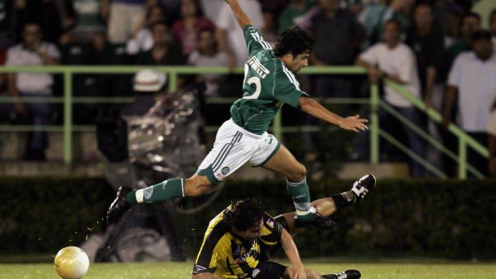 Cristian (above), of Brazil's Palmeiras,