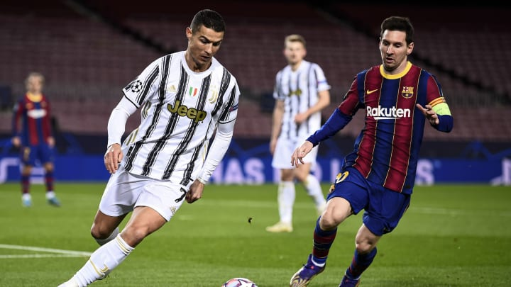 Both Ronaldo and Messi are among top 10 players with highest goals per game ratio in Champions League