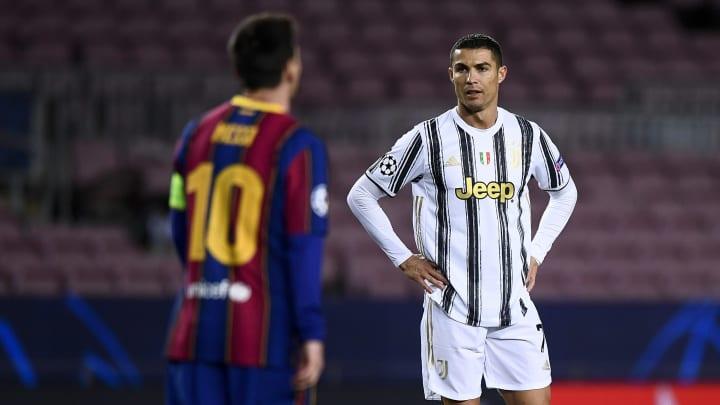 Messi e Cristiano Ronaldo estão no topo do ranking de ganhos anuais