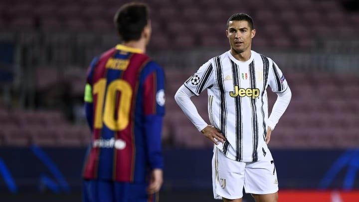 Ronaldo and Messi met in last season's Champions League