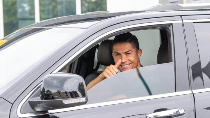 Cristiano Ronaldo arrival