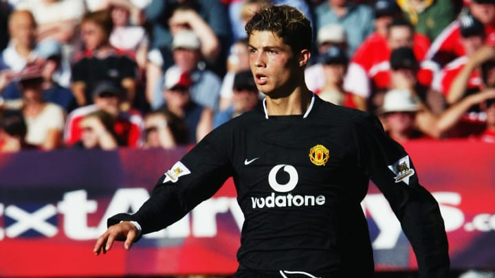 Ronaldo joined Manchester United for a fee of £12.24m, becoming the most expensive teenager in Premier League history