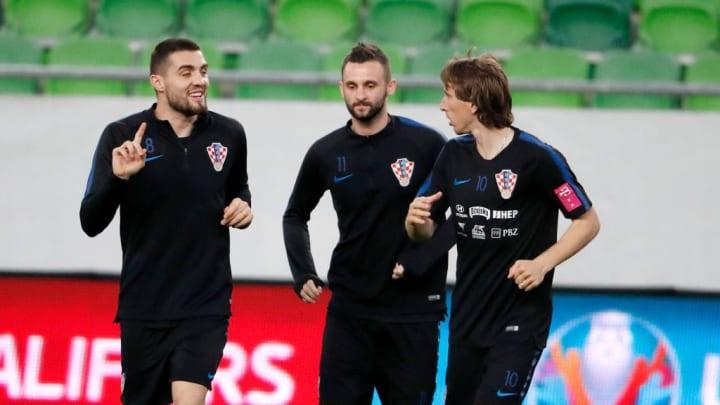 Mateo Kovacic, Luka Modric, Marcelo Brozovic