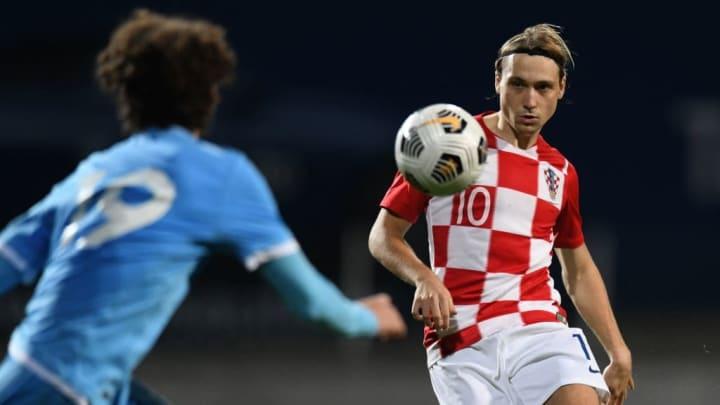 Lovro Majer Croácia Sub-21 Eurocopa