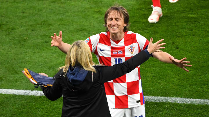Modric está siendo una de las sensaciones de la Eurocopa