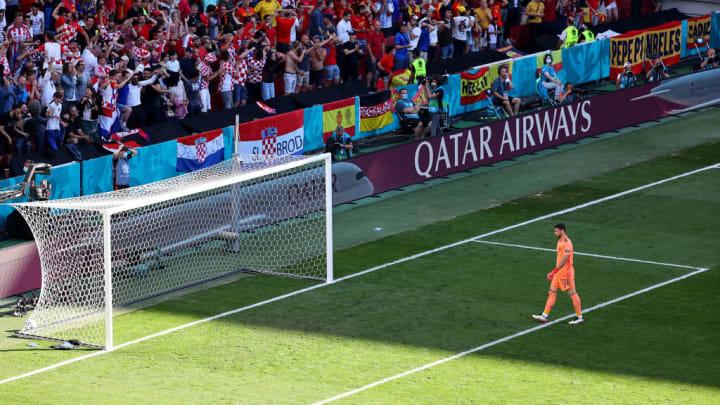 Unai Simon Pedri Espanha Eurocopa Croácia