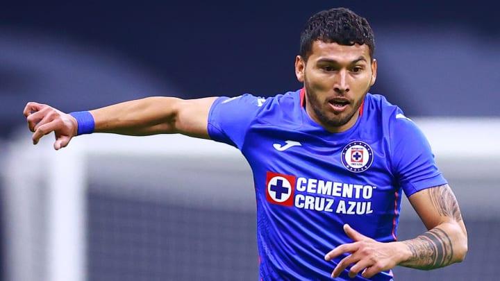 Juan Escobar con Cruz Azul