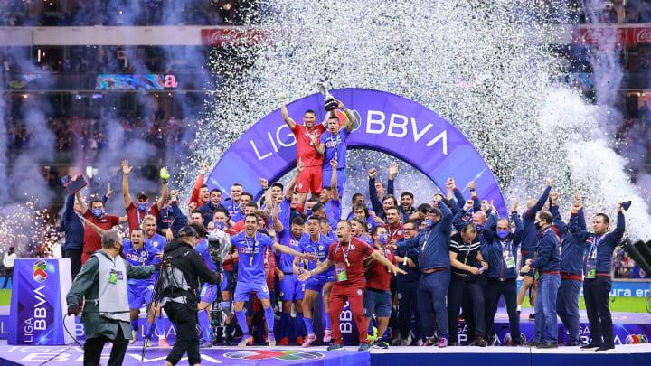 Torneo Guard1anes 2021 Liga MX champions Cruz Azul