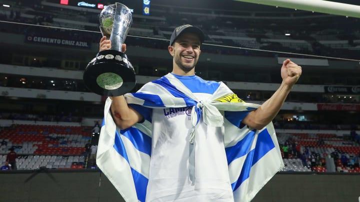 Ignacio Rivero campeón con Cruz Azul