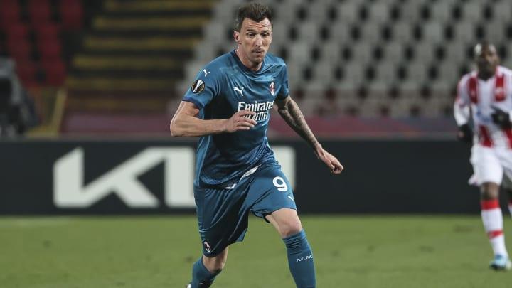 Mario Mandzukic, Milan formasıyla