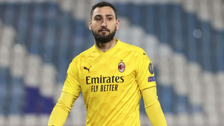 Gianluigi Donnarumma has ambitions as world's bets paid goalkeeper