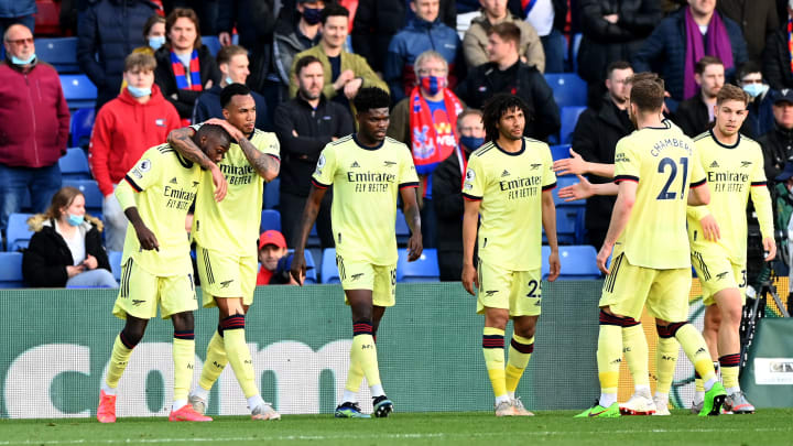 Crystal Palace 1-3 Arsenal: Player ratings as Gunners keep ...