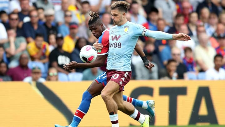 Wilfried Zaha, Jack Grealish