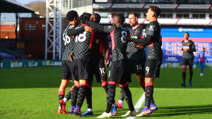 Liverpool were on fire against Crystal Palace