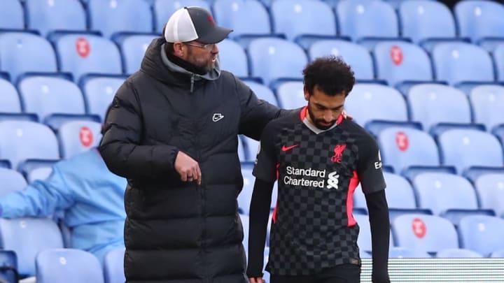 Salah não gostou de não ter sido o capitão do Liverpool em partida da Champions League.