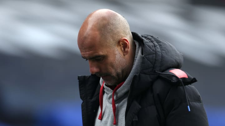Pep Guardiola's side have a huge game on the horizon