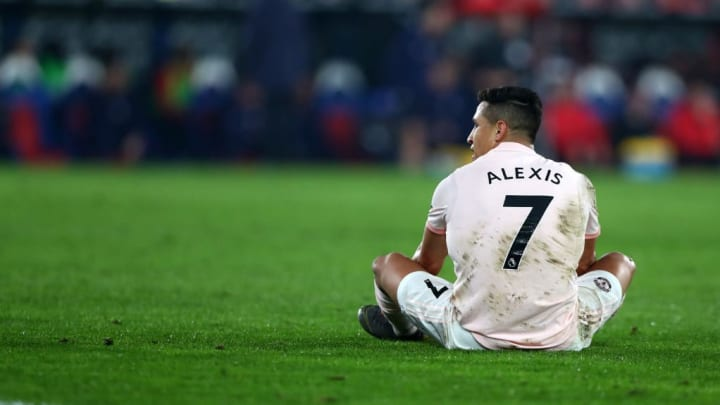 Sanchez struggled to ever really settle at Man Utd