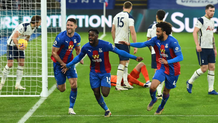 Crystal Palace earned a 1-1 draw with Tottenham