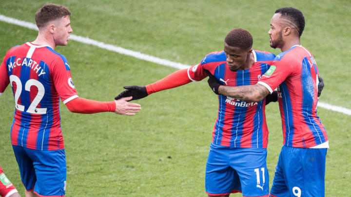 It remains to be seen whether Wilfred Zaha will be at Palace next season