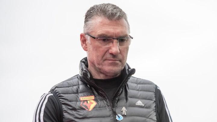 Watford manager Nigel Pearson