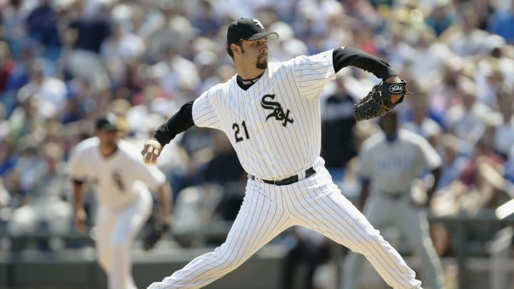 Chicago White Sox starter Esteban Loaiza