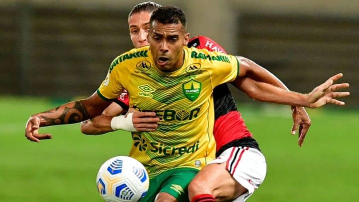 Elton, Filipe Luis Cuiabá Atlético-MG Brasileirão