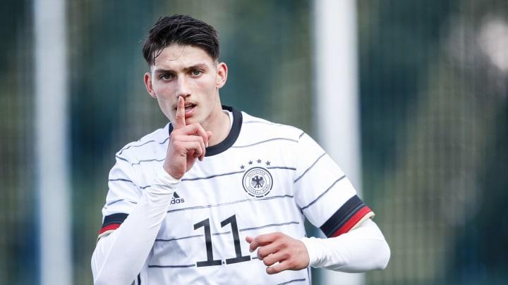 Yusuf Kabadayi im Trikot der deutschen U18-Nationalmannschaft