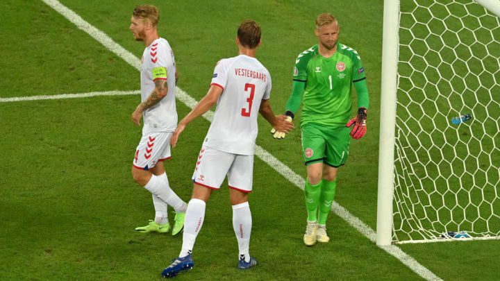 Kasper Schmeichel, Jannik Vestergaard
