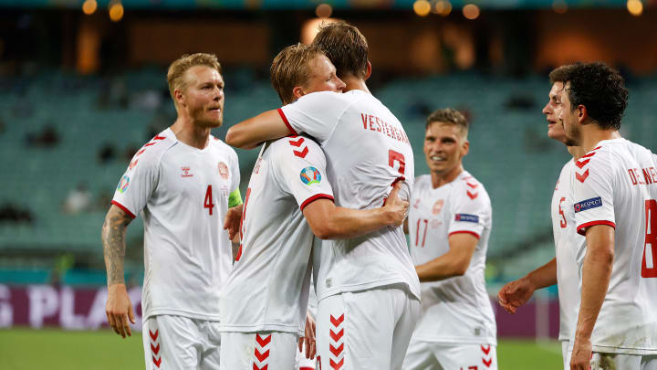 Denmark have reached the last four